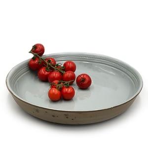 Akare Platter Celadon, handmade in Africa platter